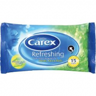 Carex Wipes x15 - Refreshing